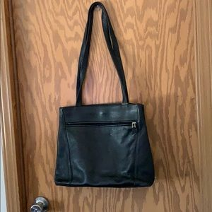 New!! Black Leather bag